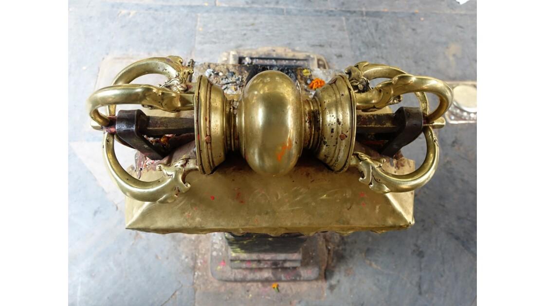 Népal Patan Temple d'Or Vajra
