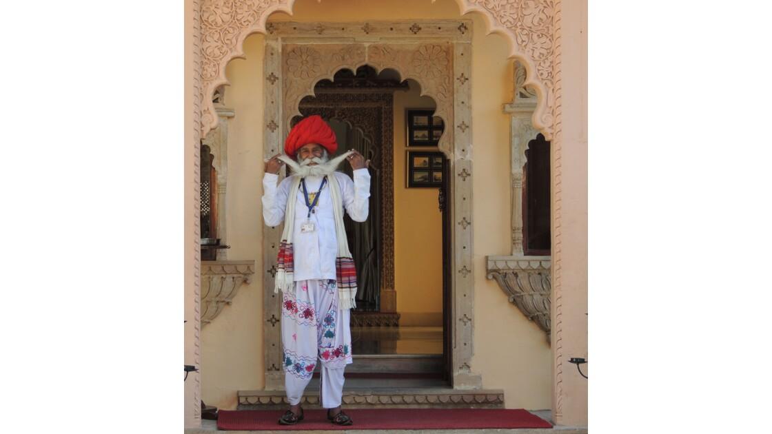 Visage d'Inde