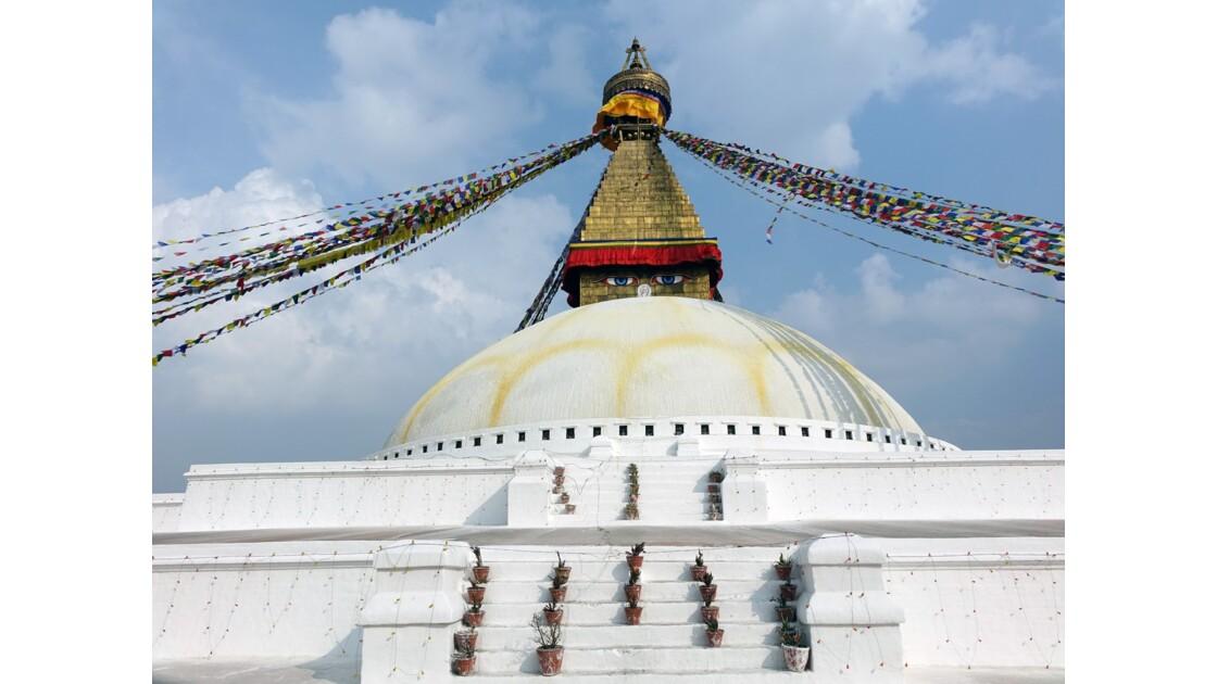 Népal Le Stupa de Bodnath 1