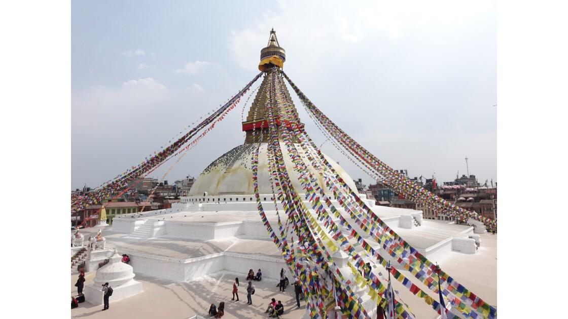 Népal Le Stupa de Bodnath 2