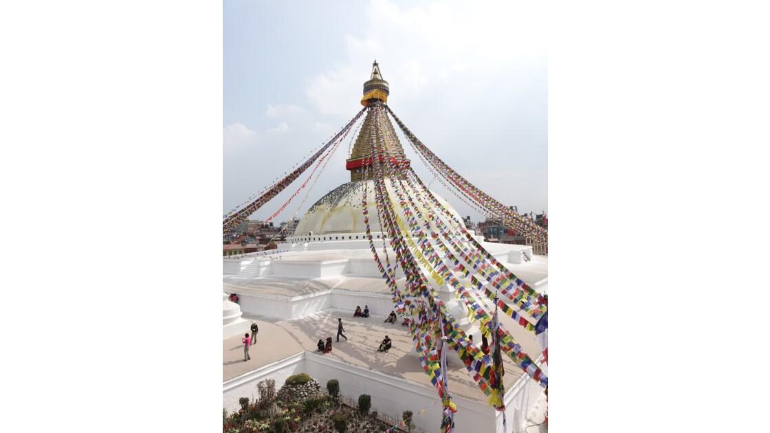 Népal Le Stupa de Bodnath 3