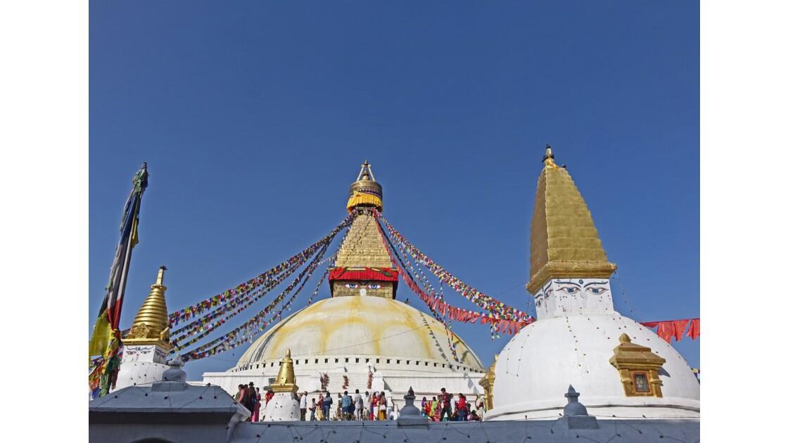 Népal Les Stupas de Bodnath