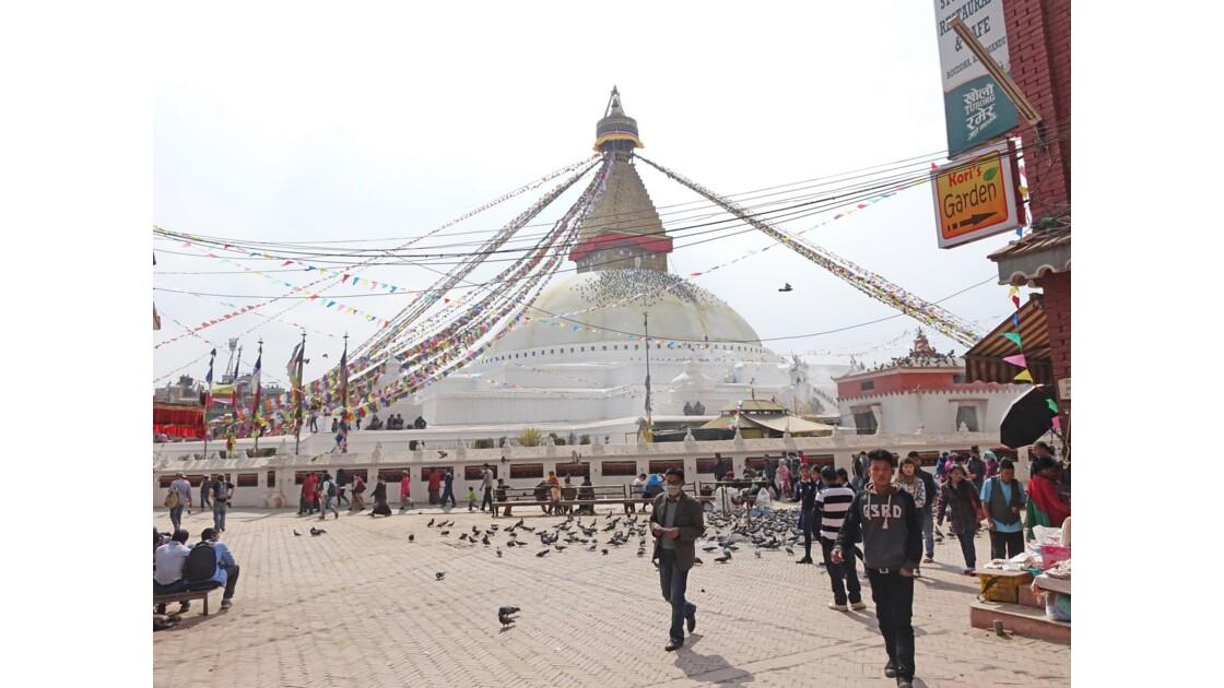 Népal Stupa de Bodnath Le Losar 6