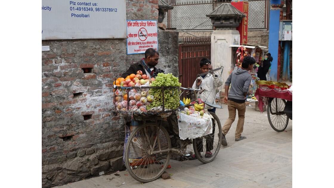 Népal Losar jour de fête dans les rues de Bodnath 1