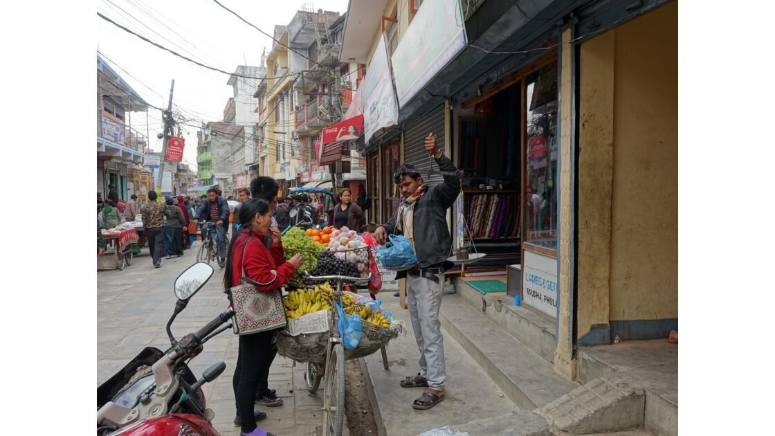 Népal Losar jour de fête dans les rues de Bodnath 3