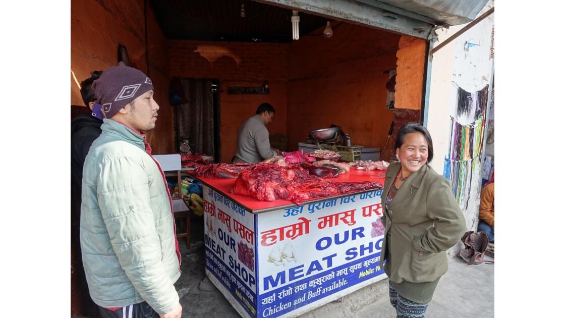 Népal Losar jour de fête dans les rues de Bodnath 4