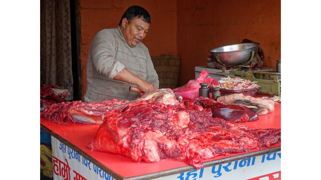 Népal Losar jour de fête dans les rues de Bodnath 5