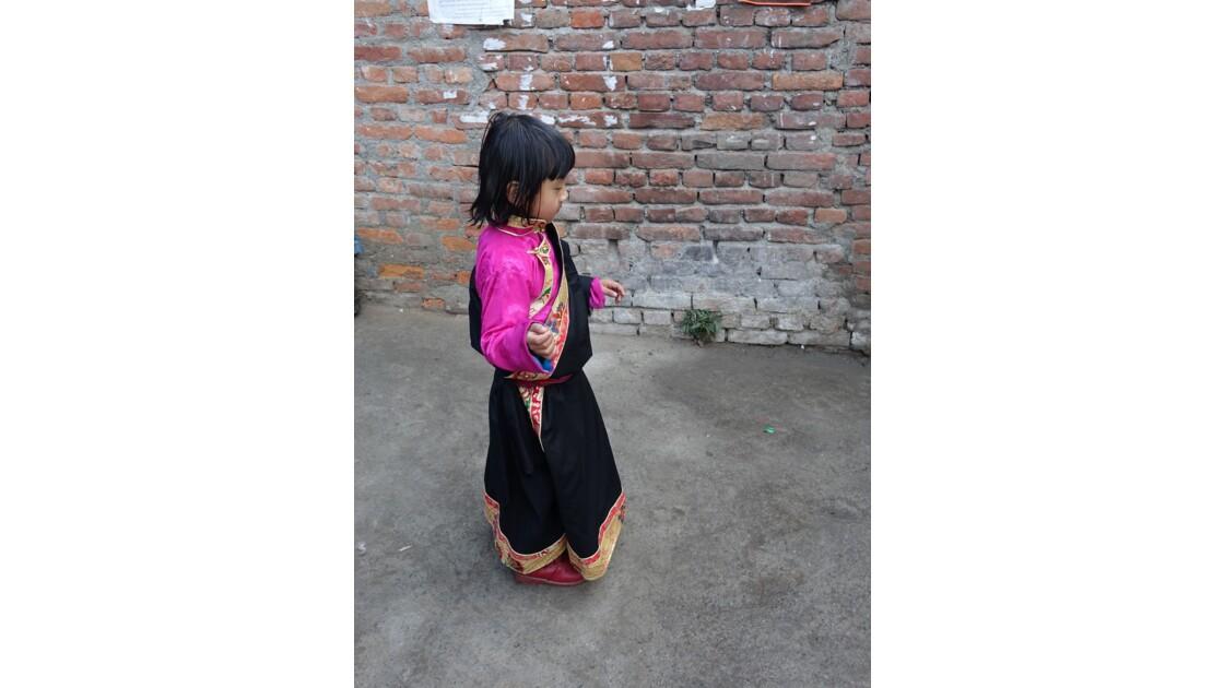 Népal Losar jour de fête dans les rues de Bodnath 6