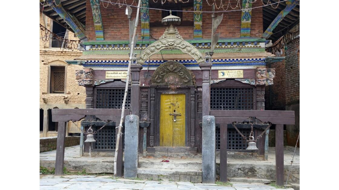 Népal Bandipur Temple de Bindebasini Mandir