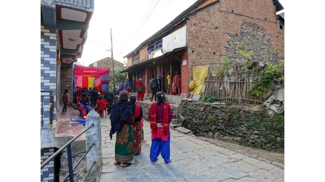 Népal Mariage à Bandipur 1