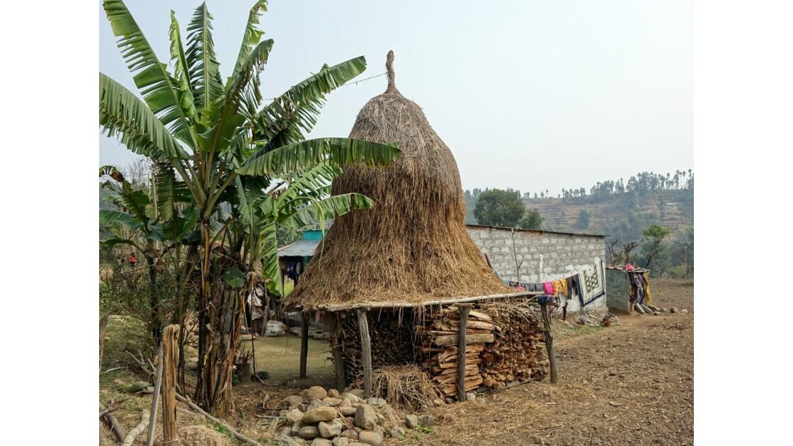 Népal Bandipur Trail près de la Prithvi Highway 3
