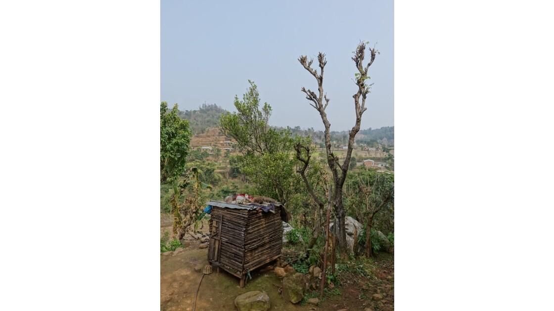 Népal Bandipur Trail Village près de la Prithvi Highway 1