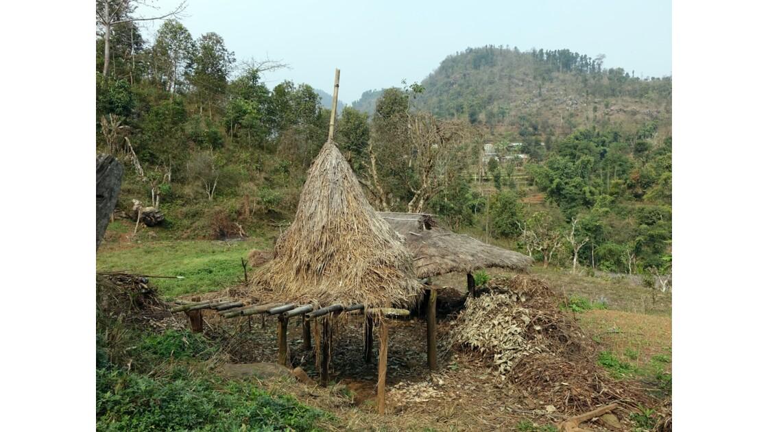 Népal Bandipur Trail Village près de la Prithvi Highway 2