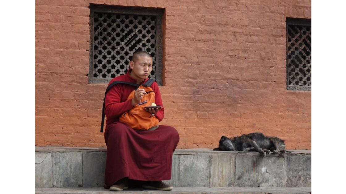 Népal Autour du Stupa de Swayambunath 1