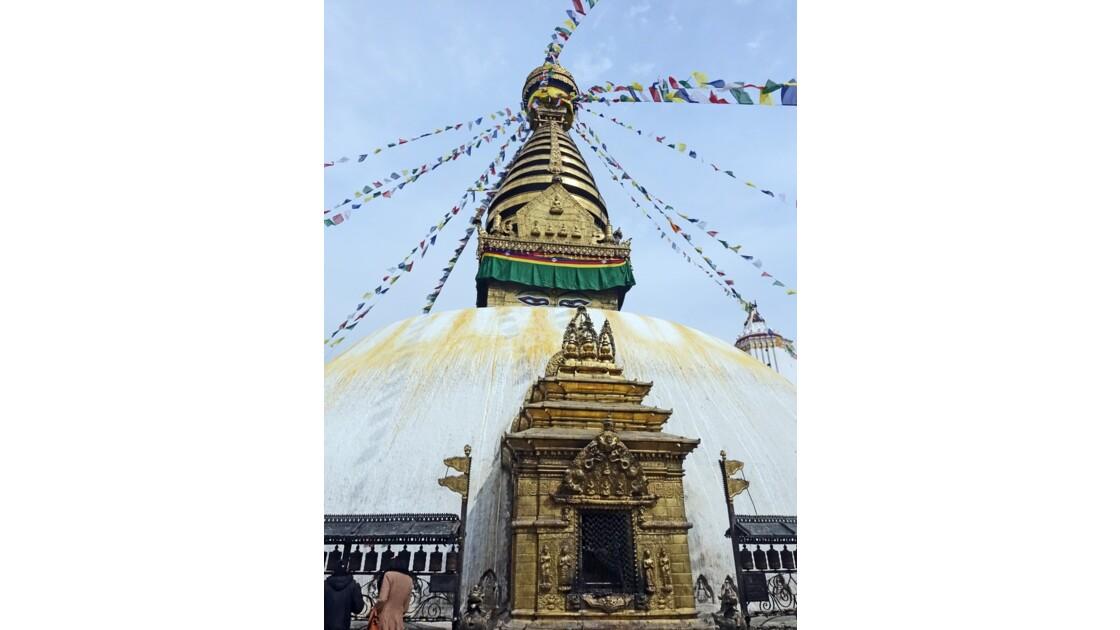 Népal Stupa de Swayambunath 1