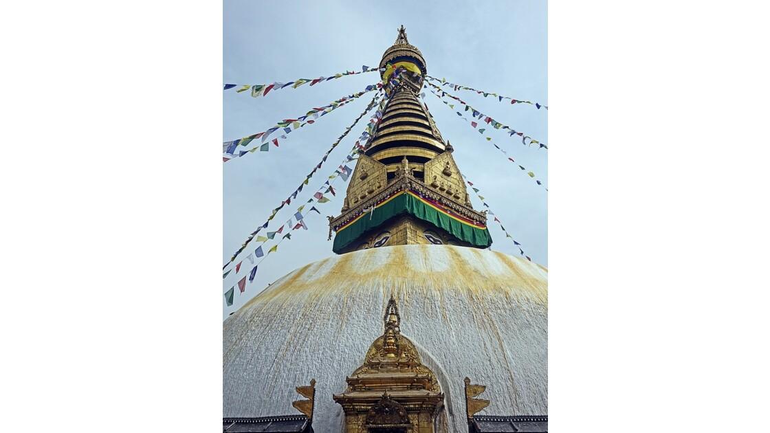 Népal Stupa de Swayambunath 2