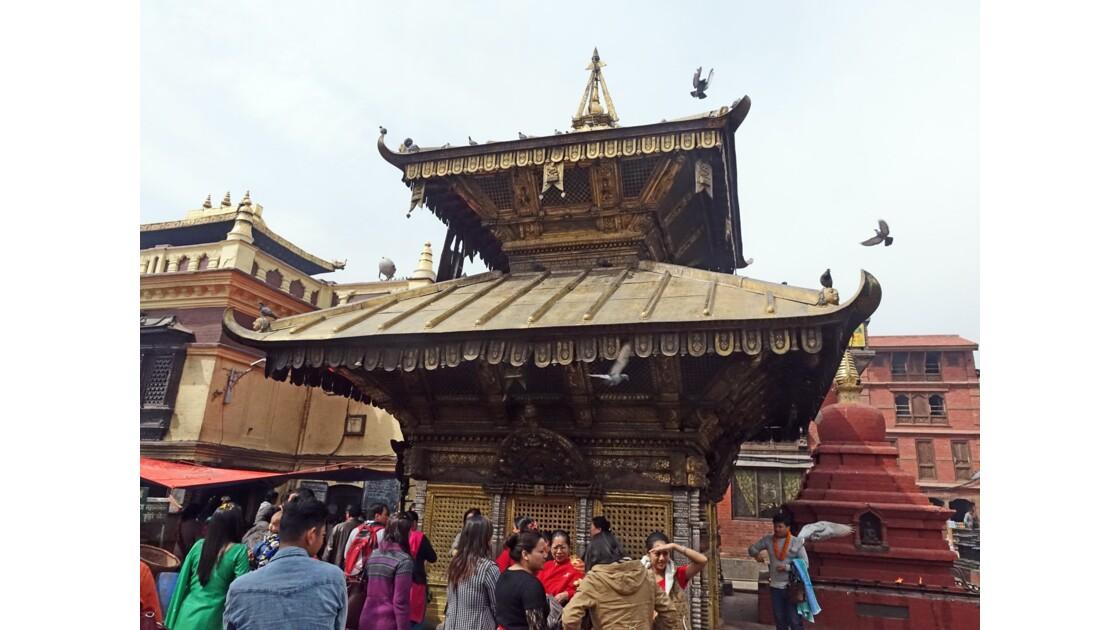 Népal Stupa de Swayambunath Temple d'Hariti