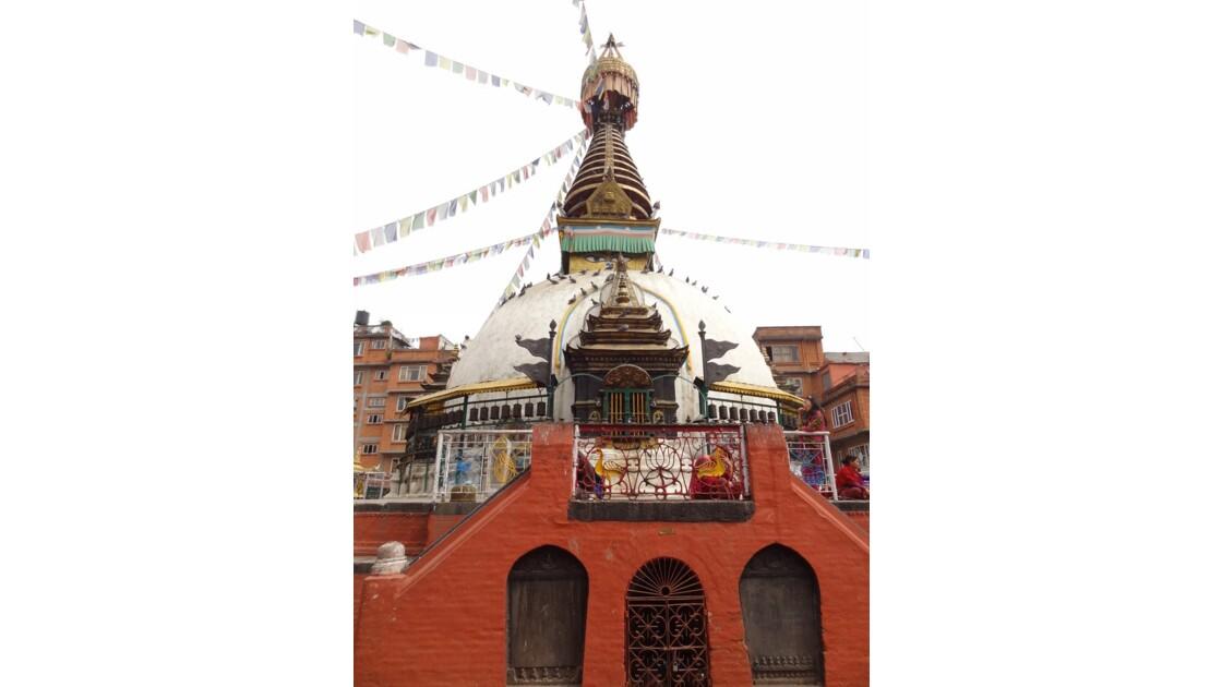 Népal Katmandou Square Nagha Bahal Stupa Kathesimbu 2