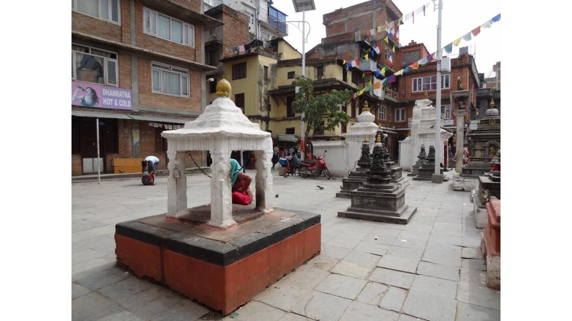 Népal Katmandou Square Nagha Bahal 1