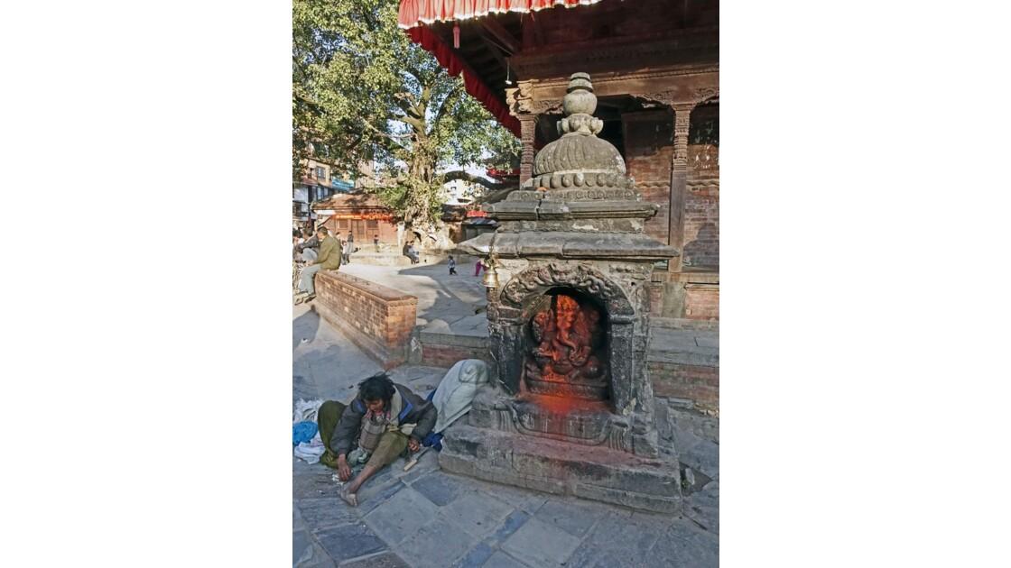 Népal Katmandou  Durbar Square 1
