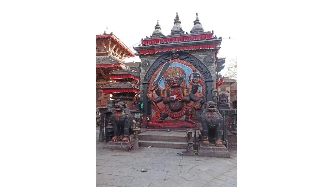 Népal Katmandou Durbar Square Kala Bhairab 1
