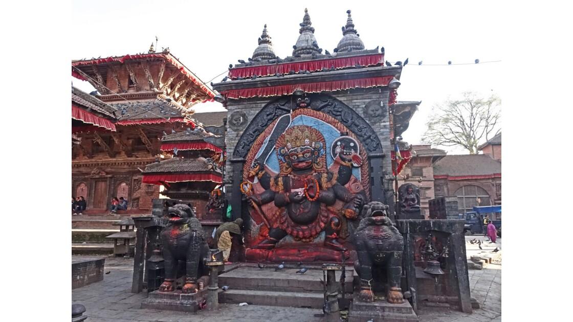 Népal Katmandou Durbar Square Kala Bhairab 5