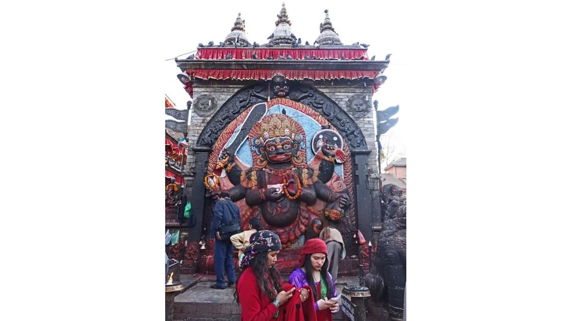Népal Katmandou Durbar Square Kala Bhairab 6