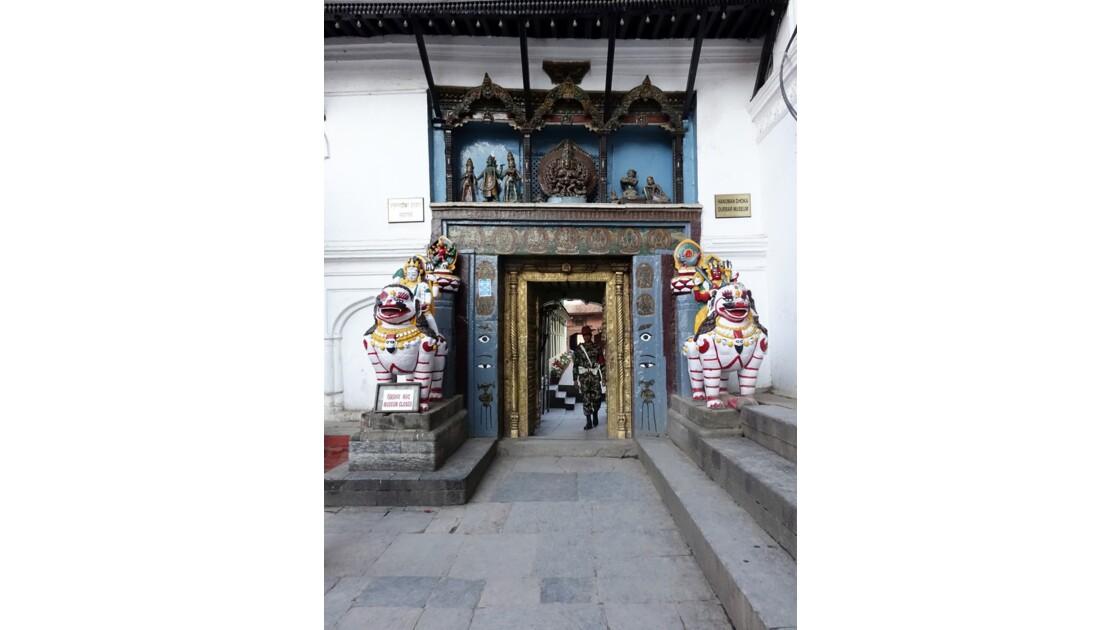Népal Katmandou Durbar Square Porte de Najal Chowk