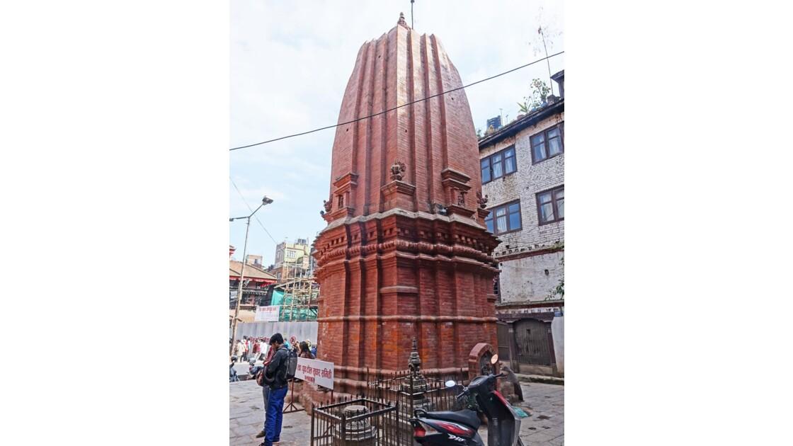 Népal Katmandou Durbar Square Temple de Shiva 1