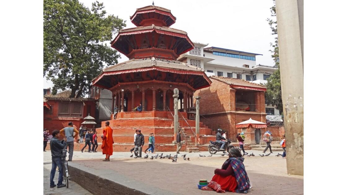 Népal Katmandou Durbar Square Temple de Krishna 2