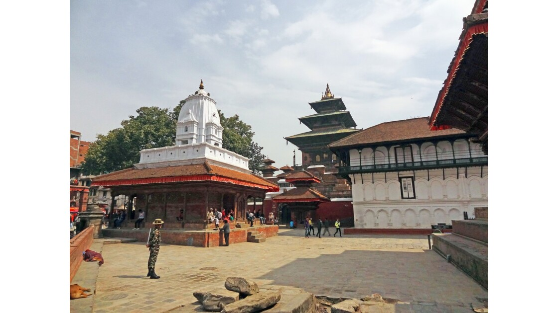 Népal Katmandou Durbar Square Temple de Kakeshwar 1