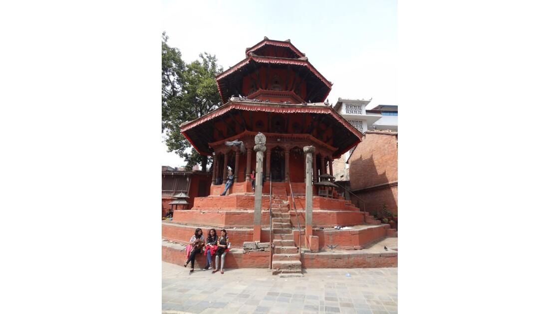 Népal Katmandou Durbar Square Temple de Krishna 1