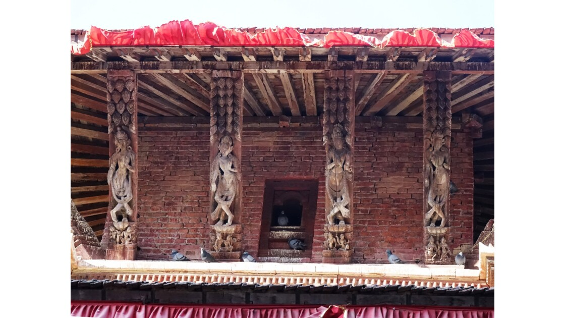 Népal Katmandou Durbar Square Temple Jagannath 2