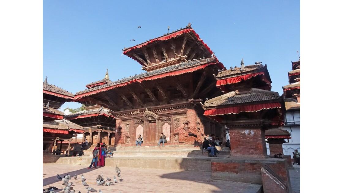 Népal Katmandou Durbar Square Temple Jagannath 1