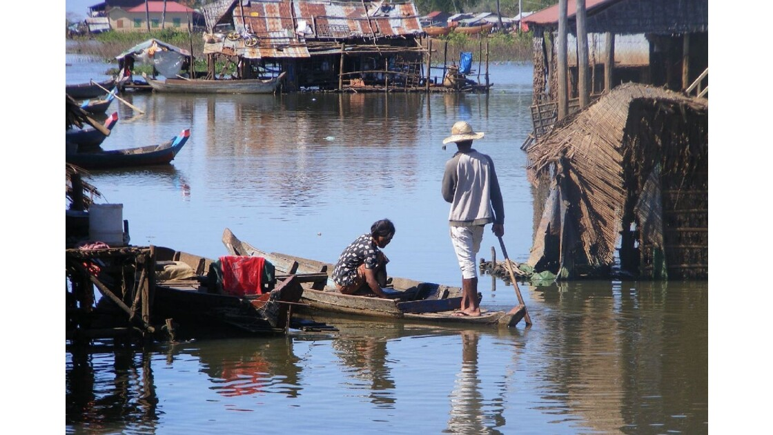 Sur le lac Tonlé Sap