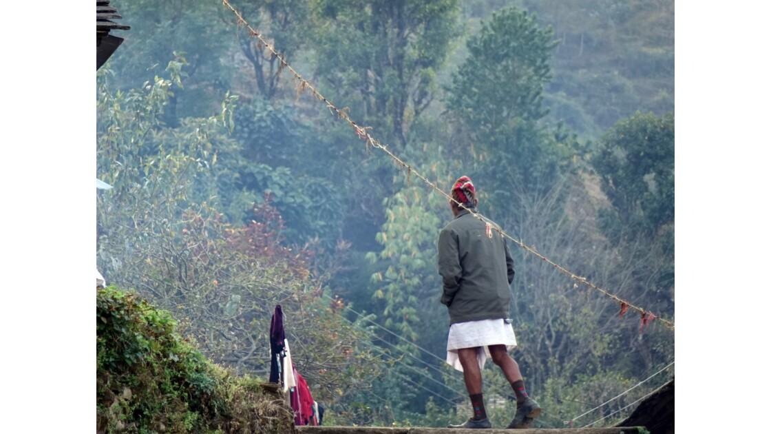 Népal Landruk au petit matin 3