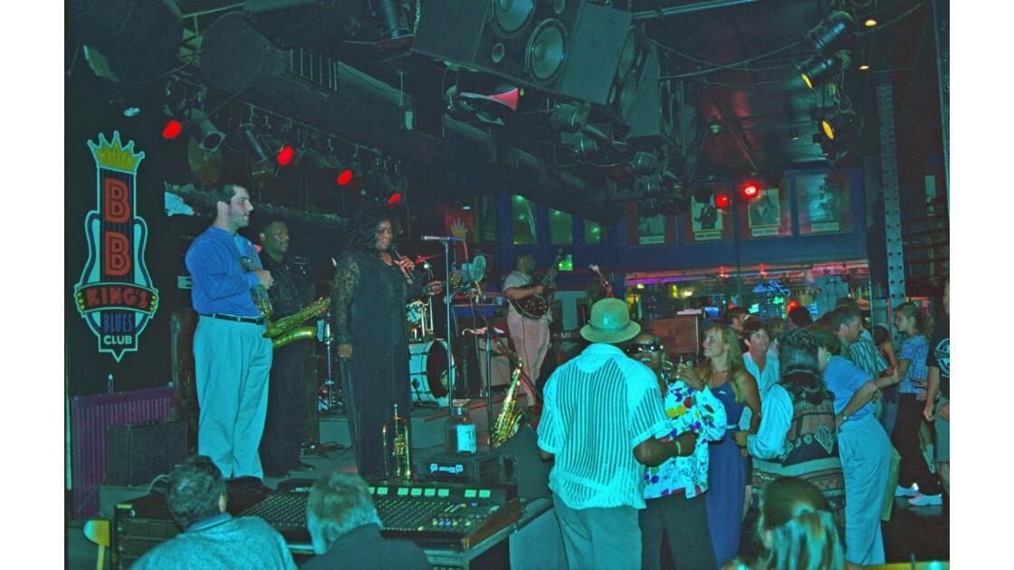 Memphis en deuil Chez BB King