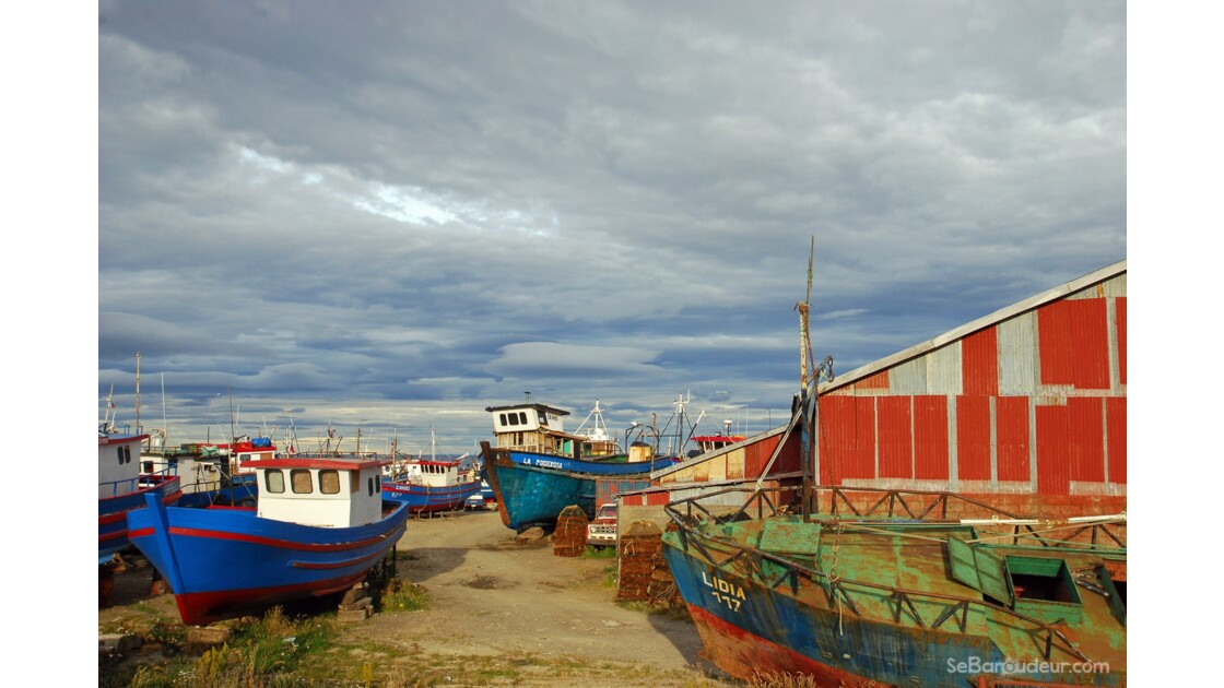 Bateaux, Puntas Arenas
