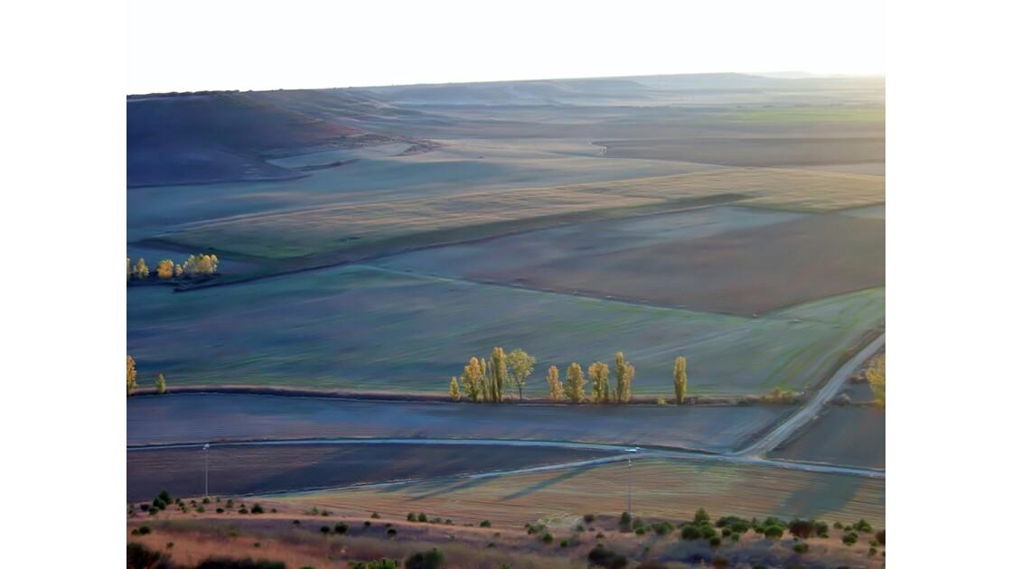 La Meseta castellana ( Espagne)