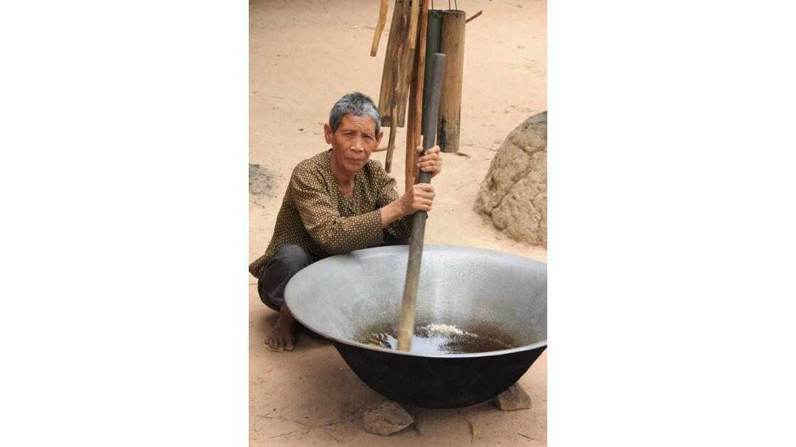 Village cambodgien