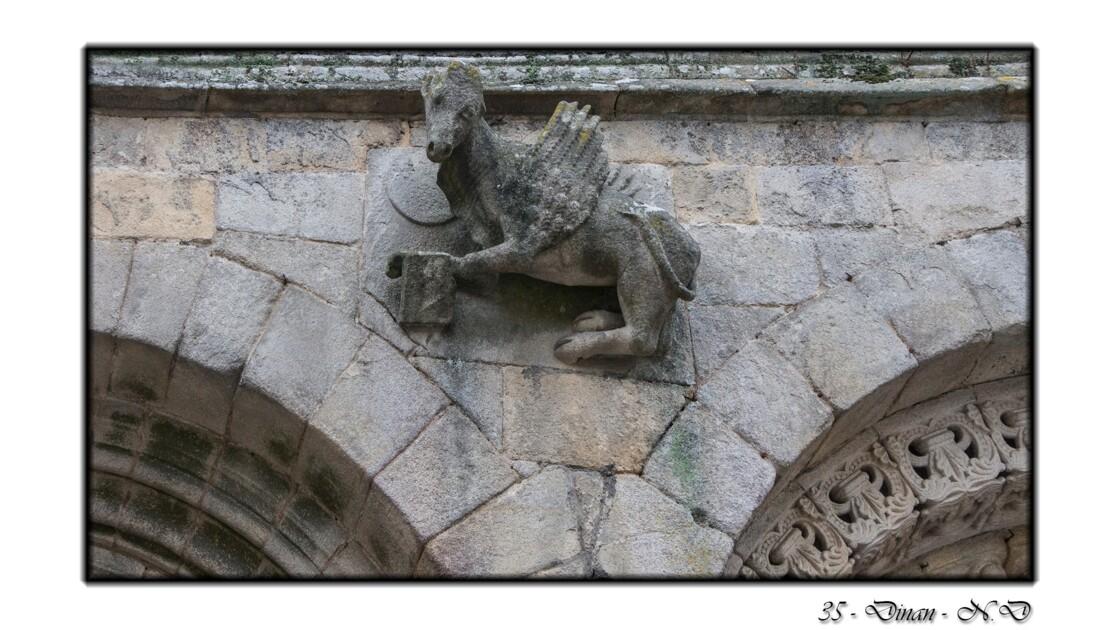 22 - Dinan - Basilique Saint-Sauveur - Classé MH : 1862