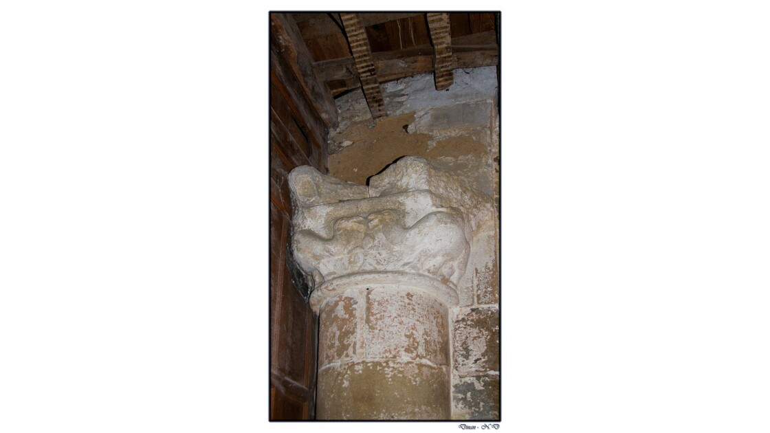 Chapiteau aux chameaux - Dinan - Basilique Saint-Sauveur