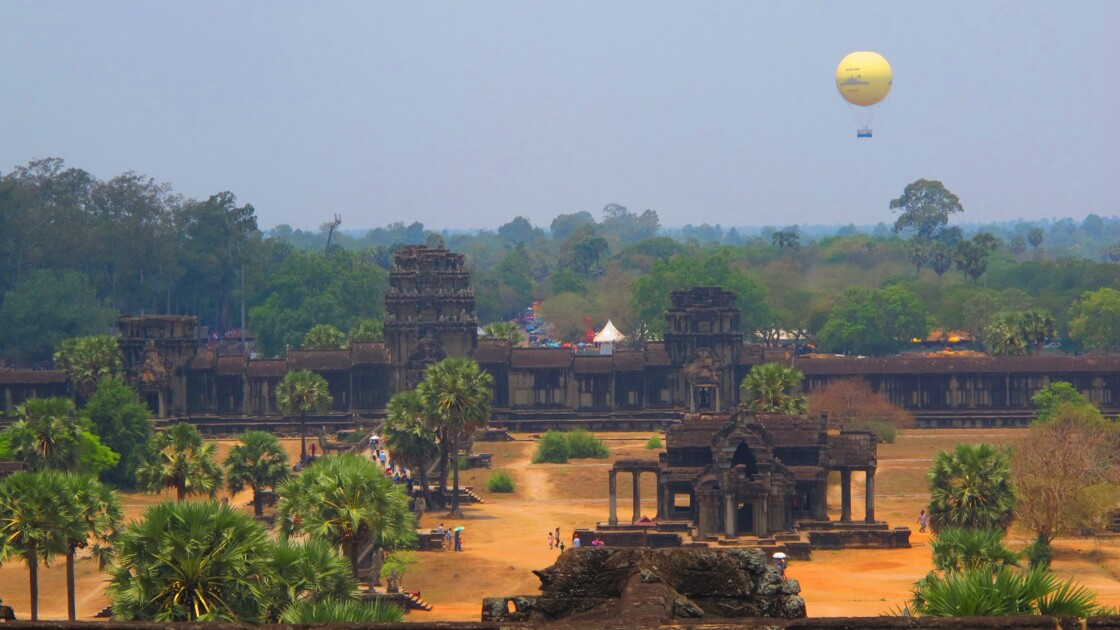 Sa majesté Angkor Wat