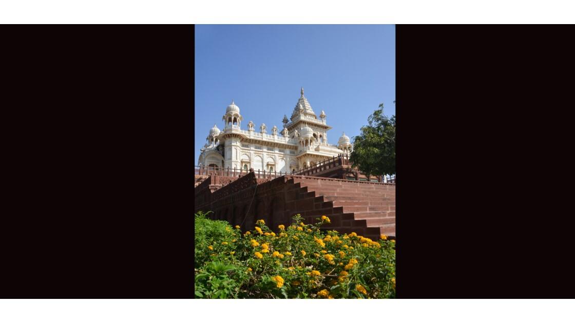Temple Jaswant Thada à Jodhpur