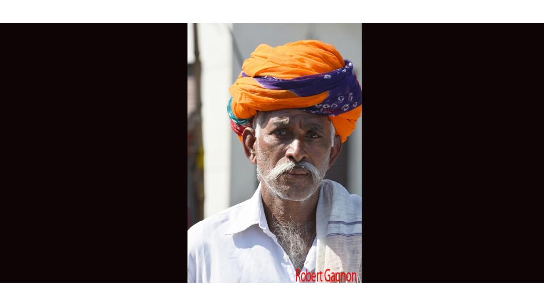 Le turban en 2 couleurs