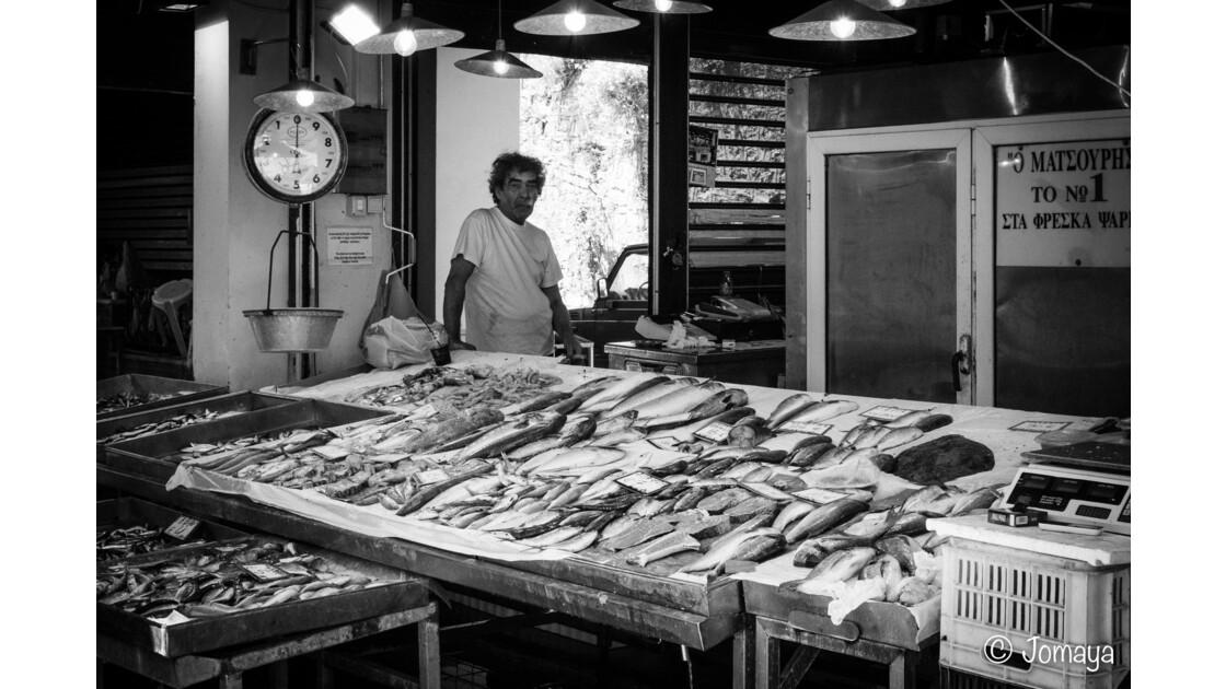 Au marché de Corfou - Corfu Market