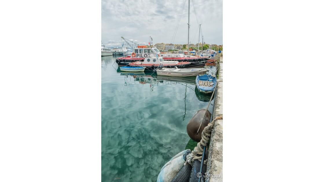 Le port de Corfou - Corfu Port