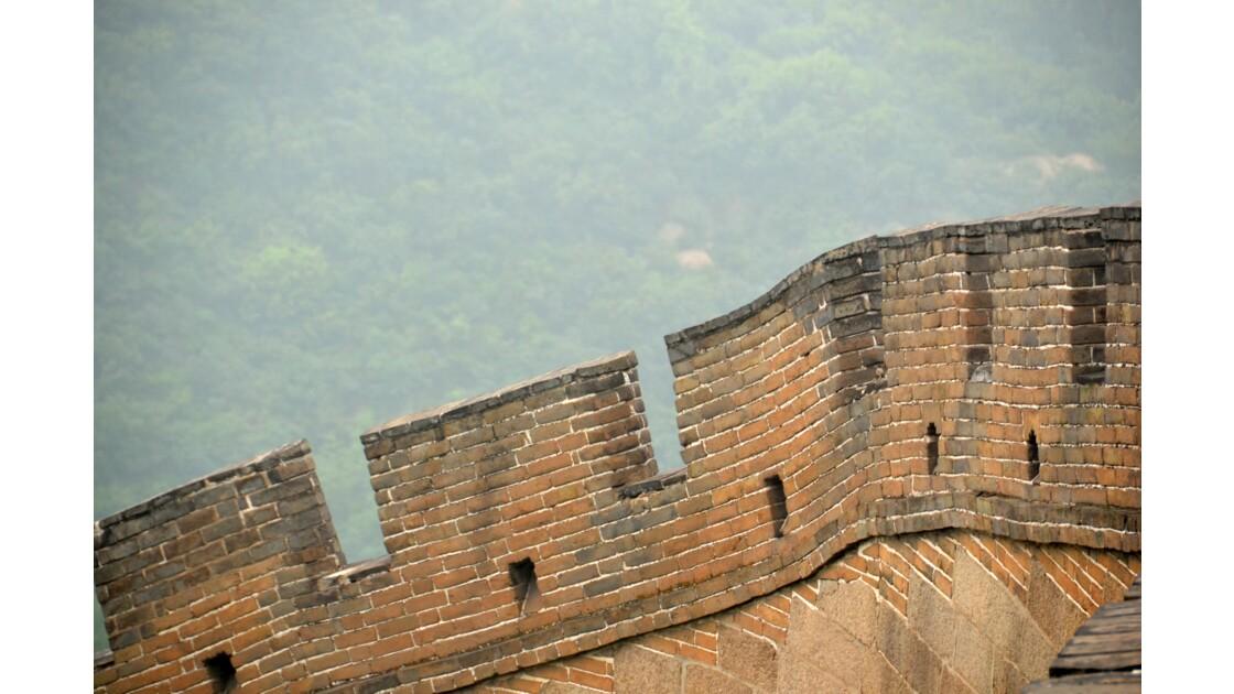 Détail de la Grande muraille
