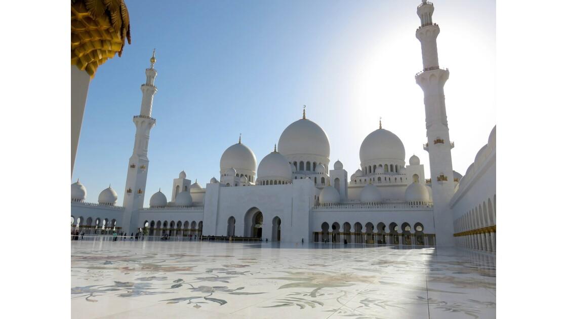 Abu Dhabi la Mosquée blanche de Sheikh  Zayed