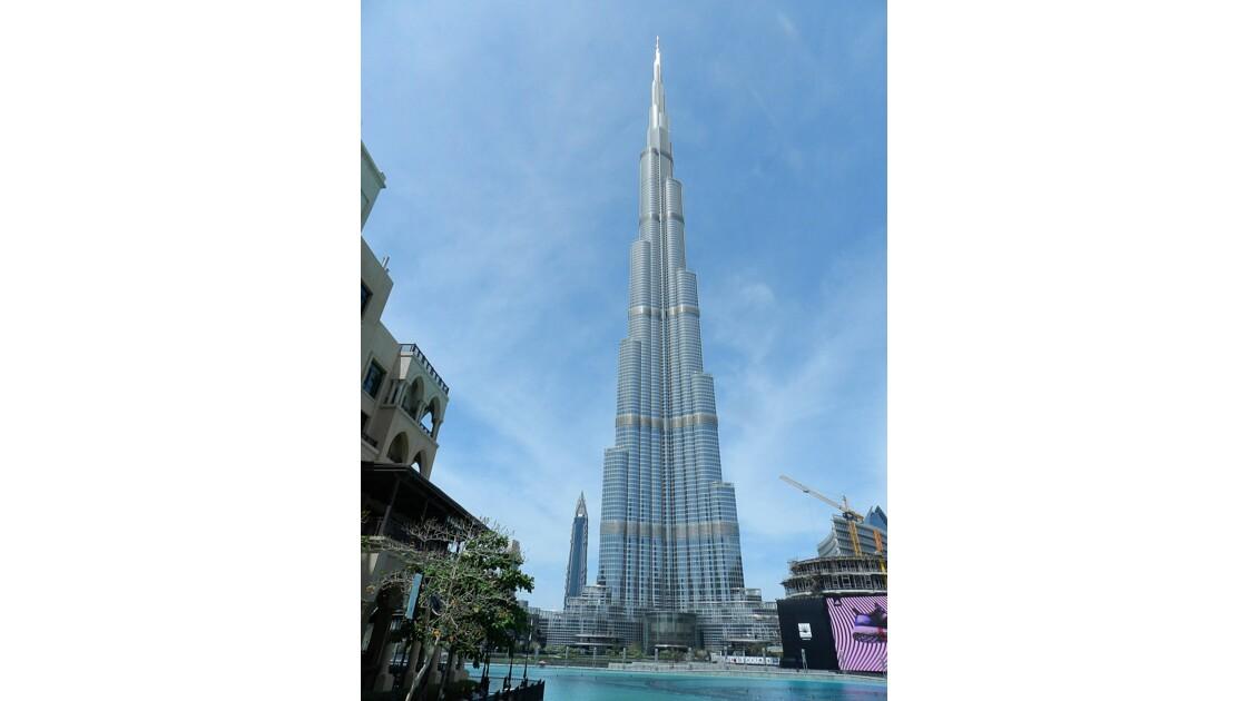 Dubaï Emirats arabes unis : La tour Burj Khalifa